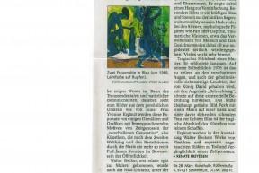 Artikel Bayerische Staatszeitung