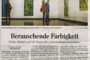 Artikel zu der Ausstellung  *Mensch und Mytos*in Schweinfurt